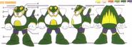 Mega Man 4 Toad Man Concept Artwork 2