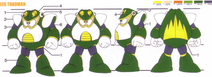 Mega Man 4 Toad Man Concept Artwork 2