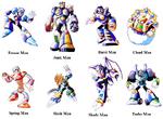 Mega Man 7 Bosses
