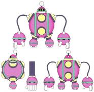 Mega Man 11 Bounce Man Concept Art 1