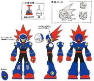Mega Man 11 Blast Man Concept Art 1