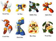 Mega Man 2 Bosses