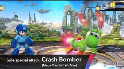Mega Man Gameplay in Super Smash Bros