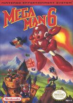 Mega Man 6 front-cover