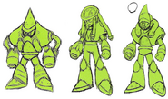 Mega Man 11 Acid Man Concept Art 2