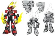 Mega Man 11 Torch Man Concept Art 2