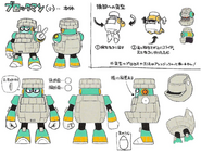 Mega Man 11 Block Man Concept Art 2