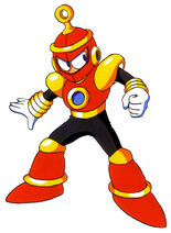 Mega Man 4 Ring Man Concept Artwork 1