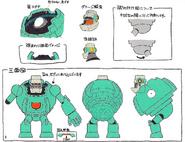 Mega Man 11 Block Man Concept Art 3