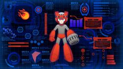 Mega Man 11 Blazing Torch