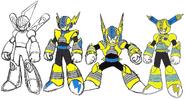 Mega Man 11 Fuse Man Concept Art 3