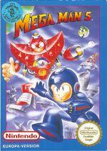 Mega Man 5 Cover