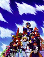 Mega ManXCommandMissionCover
