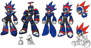 Mega Man 11 Blast Man Concept Art 2