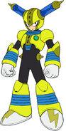 Mega Man 11 Fuse Man Concept Art