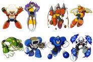 Mega Man 04 Bosse
