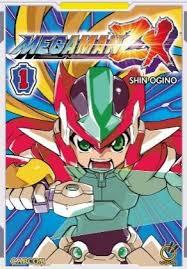 Mega Man ZX Manga
