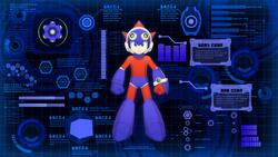 Mega Man 11 Chain Blast