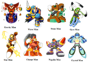 Mega Man 5 Bosses