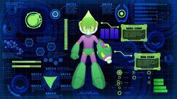 Mega Man 11 Acid Barrier