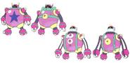 Mega Man 11 Bounce Man Concept Art 2
