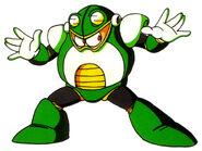 Mega Man 4 Toad Man Concept Artwork 1