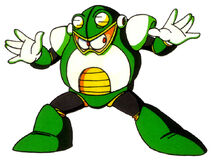 Mega Man 4 Toad Man Concept Artwork 1