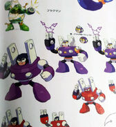 Mega Man 9 Plug Man Concept Artwork