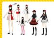 P4D Official Visual Visual Book Original Stage Costume for Yukiko, 02