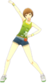P4D Chie Satonaka summer outfit change.PNG
