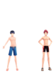 SMTx FE Boys Swimsuit DLC Costumes