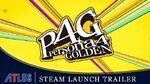 Persona 4 Golden - Steam Launch Trailer PC-1