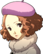 P5R Portrait Haru Winter Coat 2