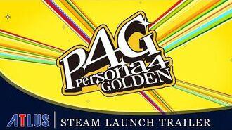 Persona 4 Golden - Steam Launch Trailer PC