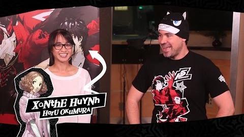 Persona 5 Xanthe Huynh talks about playing Haru Okumura