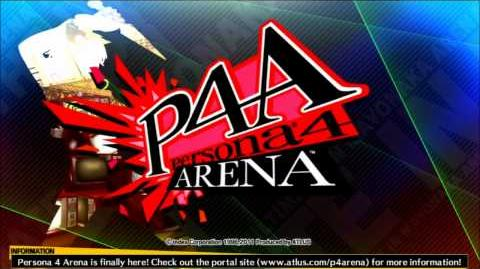 Persona 4 Arena BGM The Hero from Junes