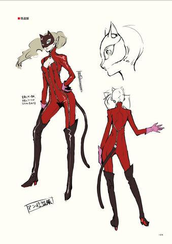 File:P5 Anne Takamaki concept art in her burglar outfit.jpg