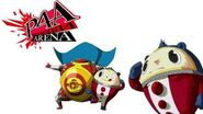 Persona 4 Arena Kuma Teddie Voice Clips Japanese - Japones