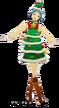 P3D Fuuka Yamagishi Christmas Tree Dress