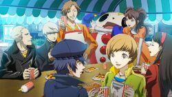 Yosuke Hanamura (Persona 4 Arena, Story Mode Illustration, 3)