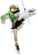 Chie Satonaka (BlazBlue Cross Tag Battle, Character Select Artwork)