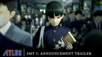 Shin Megami Tensei V - Announcement Trailer Nintendo Switch