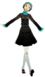 P3D Fuuka Yamagishi winter school uniform