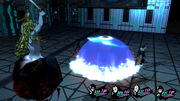 Persona 5 Mithras casting spell