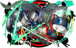 P5 Morgana Puzzle and Dragons