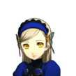 P5 portrait of Lavenza smiling