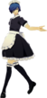 P3D The Protagonist Girly Maid Uniform