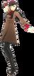 P4D Yukiko Amagi School Uniform Midwinter free DLC change