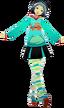 P3D Fuuka Yamagishi default outfit