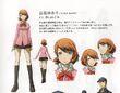 P3M concept art of Yukari Takaba